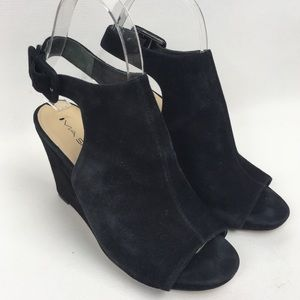 VIA SPIGA 5.5/35.5 SlingBack Wedge Sandals